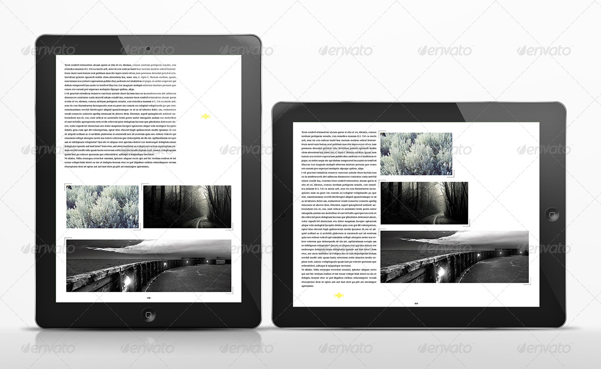 le journal tablet magazine template by luuqas graphicriver