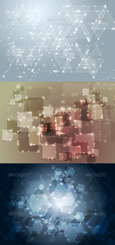 Vector Technology Elegant Design - Backgrounds Decorative