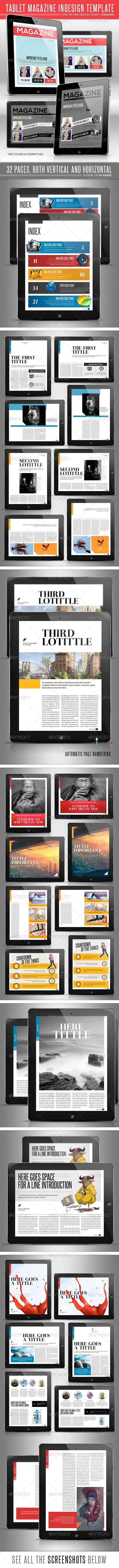 Tablet MGZ Template - Digital Magazines ePublishing
