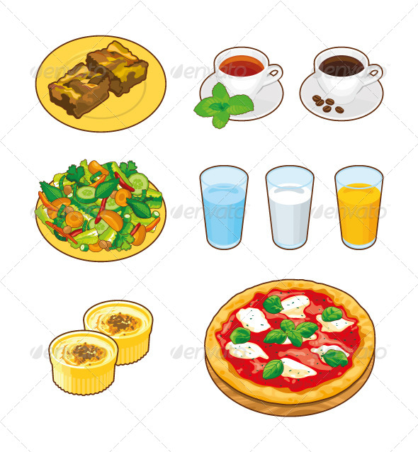 Foods & Drinks - Food Objects