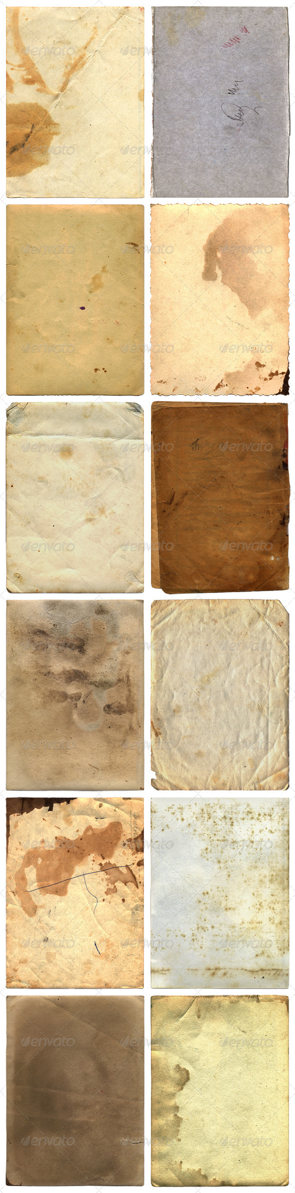 Grunge Paper Backgrounds And Textures - Paper Textures