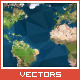 Triangled Vector World Map - GraphicRiver Item for Sale
