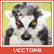 Triangled Lemur Portrait - GraphicRiver Item for Sale
