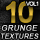 10 Hi-Res Grunge Textures Volume 1 - GraphicRiver Item for Sale