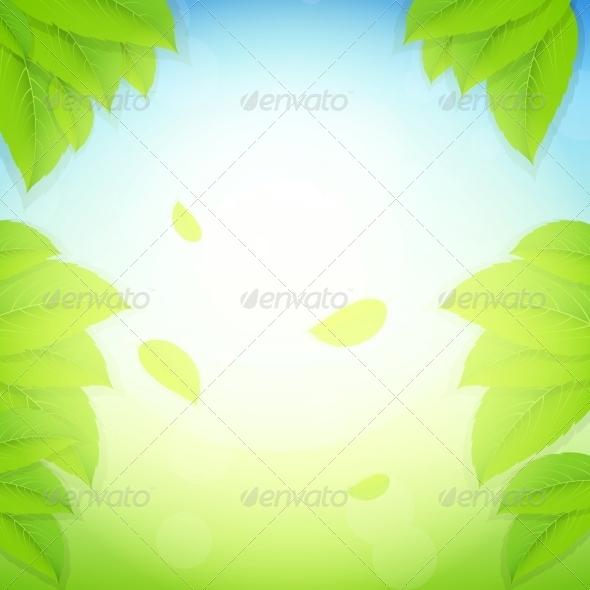 Nature Background. Vector Illustration. - Landscapes Nature