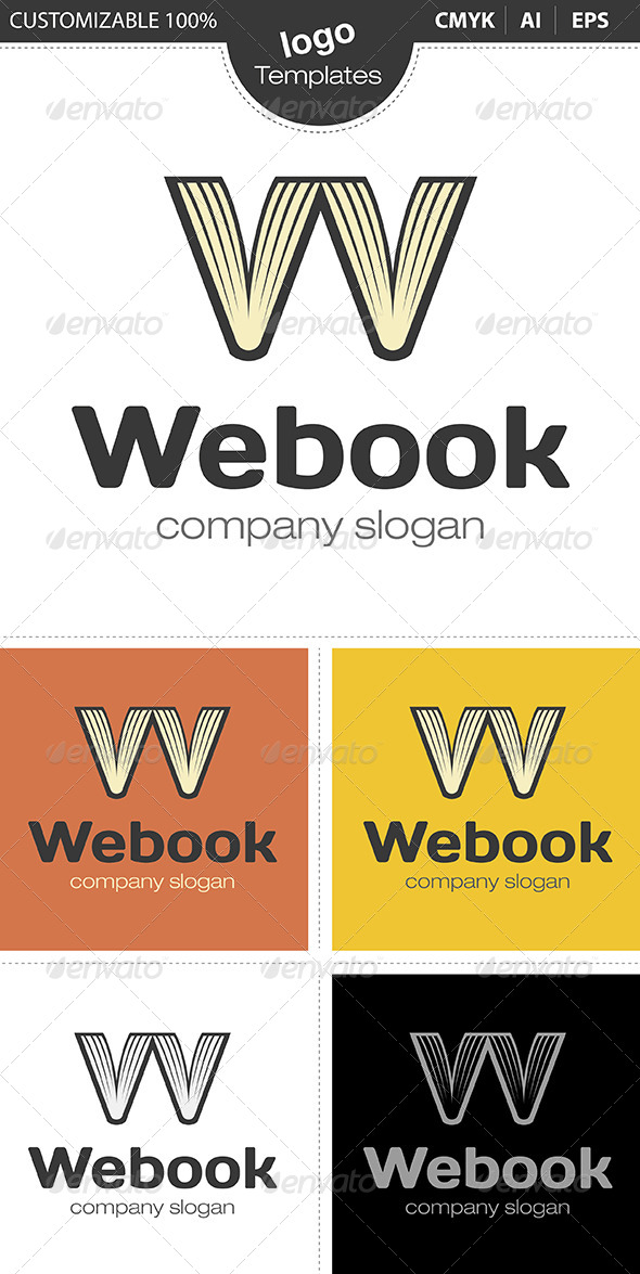 Webook Logo - Objects Logo Templates