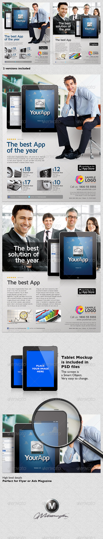 Multipurpose Mobile App Flyer Template Vol.02 - Commerce Flyers