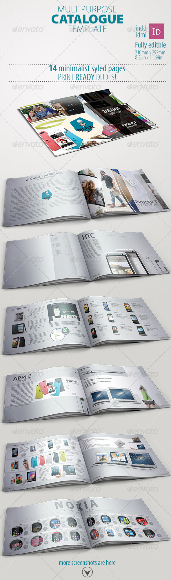 Multipurpose Catalogue - Print Templates
