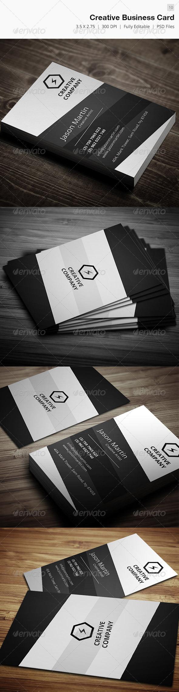 Creative Business Card - 10 - Creative Business Cards