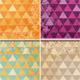 Floral Mosaic Background Set - GraphicRiver Item for Sale
