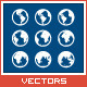 Vector Earth Globe Set - GraphicRiver Item for Sale