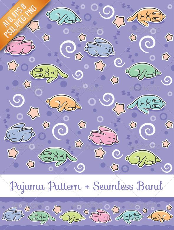 Pajama Pattern - Patterns Decorative