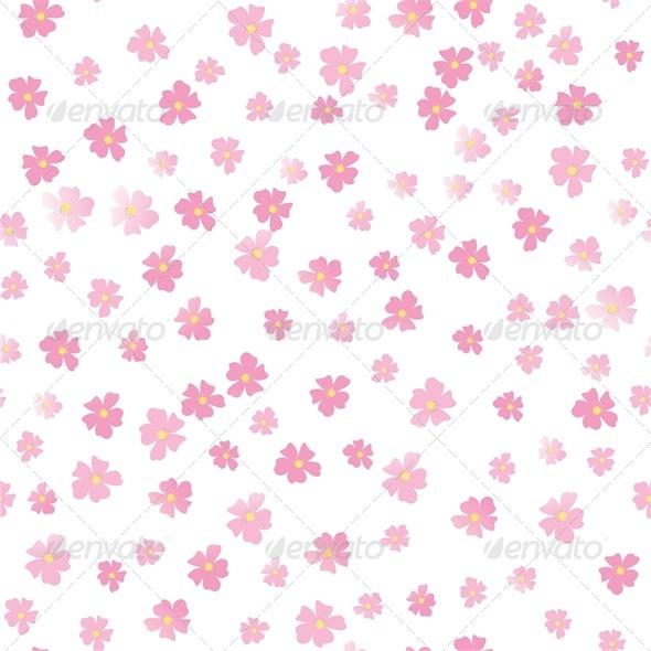 Pink flowers by prikhnenko graphicriver pink flowers flourishes swirls decorative mightylinksfo