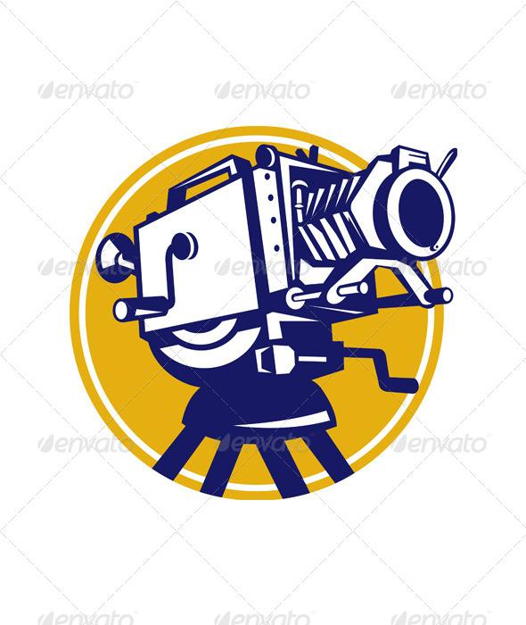 Vintage Movie Film Camera Retro - Media Technology