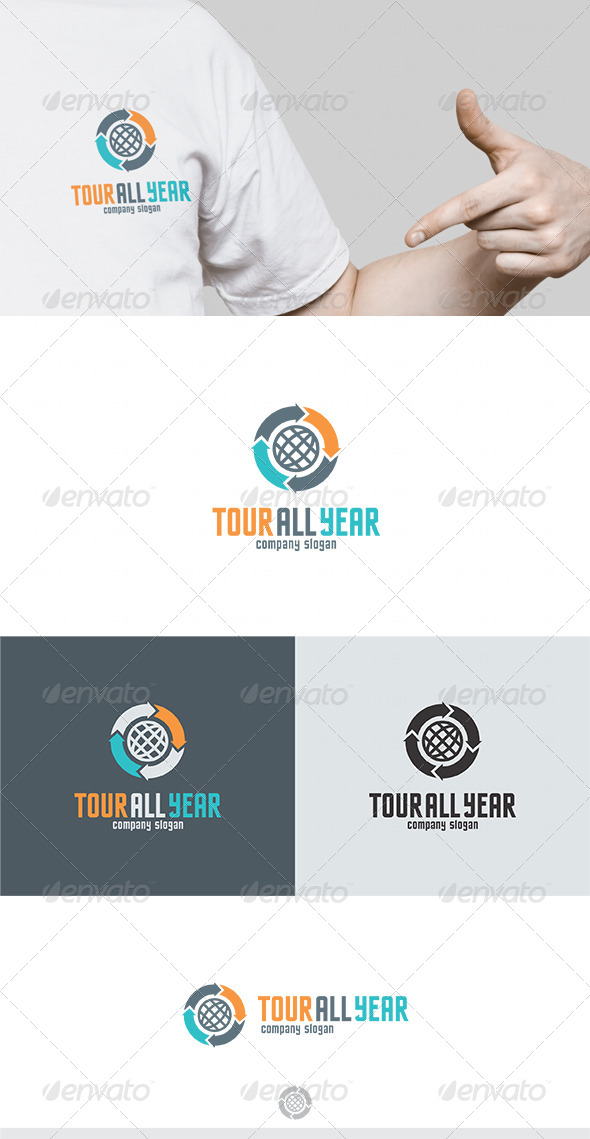 Tour All Year Logo - Symbols Logo Templates