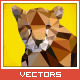 Triangled Cheetah Portrait - GraphicRiver Item for Sale