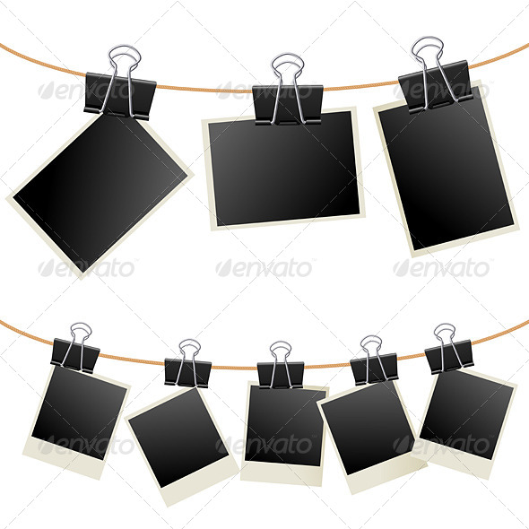 Photo Binder - Objects Vectors