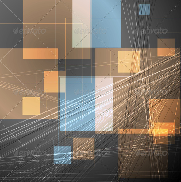 Abstract Concept Vector Template - Backgrounds Decorative