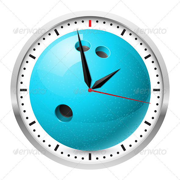 Sports Wall Clock - Media Technology