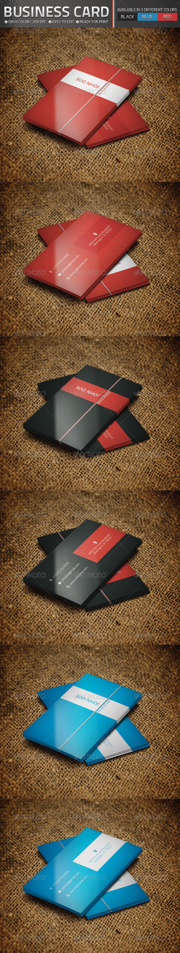 Business Card Set - Corporate Business Cards