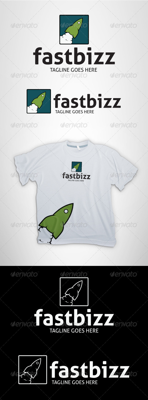 FastBizz Logo - Logo Templates