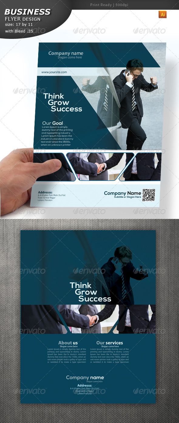 Business Services Flyer - Corporate Flyers