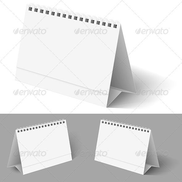 Table Calendar - Web Elements Vectors