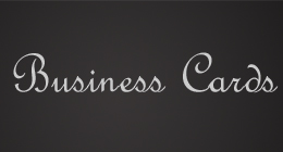 Premuim Business Cards