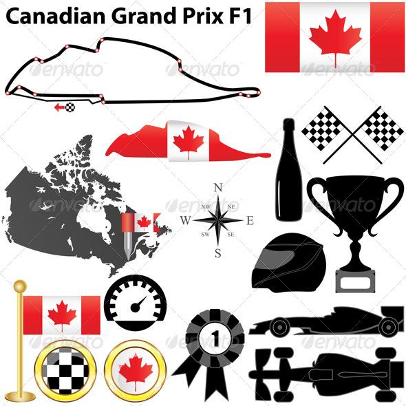 Canadian Grand Prix F1 - Sports/Activity Conceptual