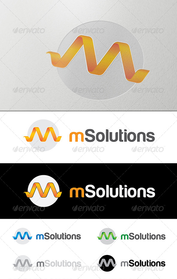 M Letter Logo - Letters Logo Templates