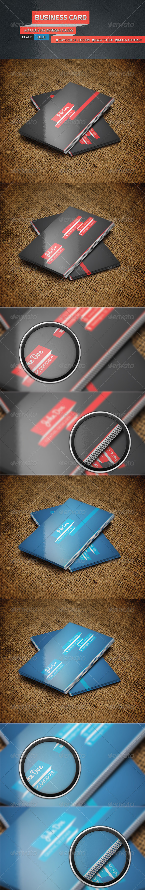 Personal Business Card Set - Corporate Business Cards