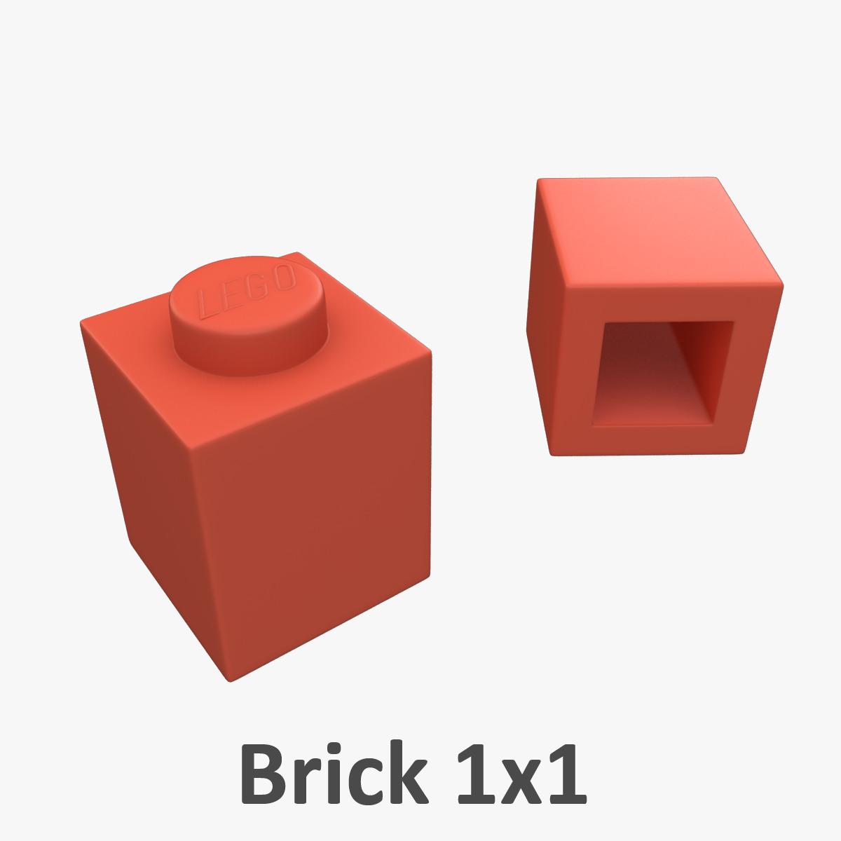 Lego Bricks 1x1 by mindfreeartist | 3DOcean