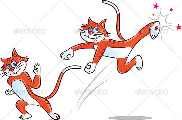 Kung Fu Cat - Sports/Activity Conceptual
