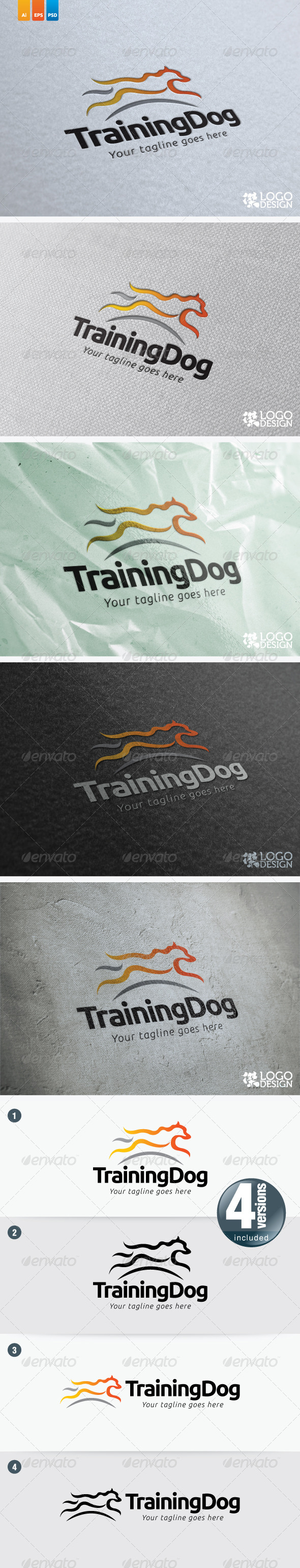 Training Dog - Animals Logo Templates