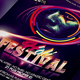 "Holi Festival Flyer Template ""Festival of Colors"""