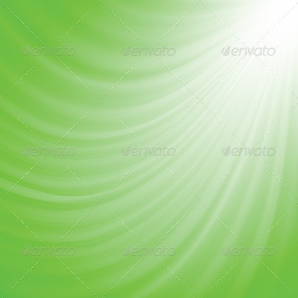 Bright Green Abstract Background - Backgrounds Decorative