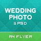 Wedding And Digital Photography Flyer - GraphicRiver Item for Sale