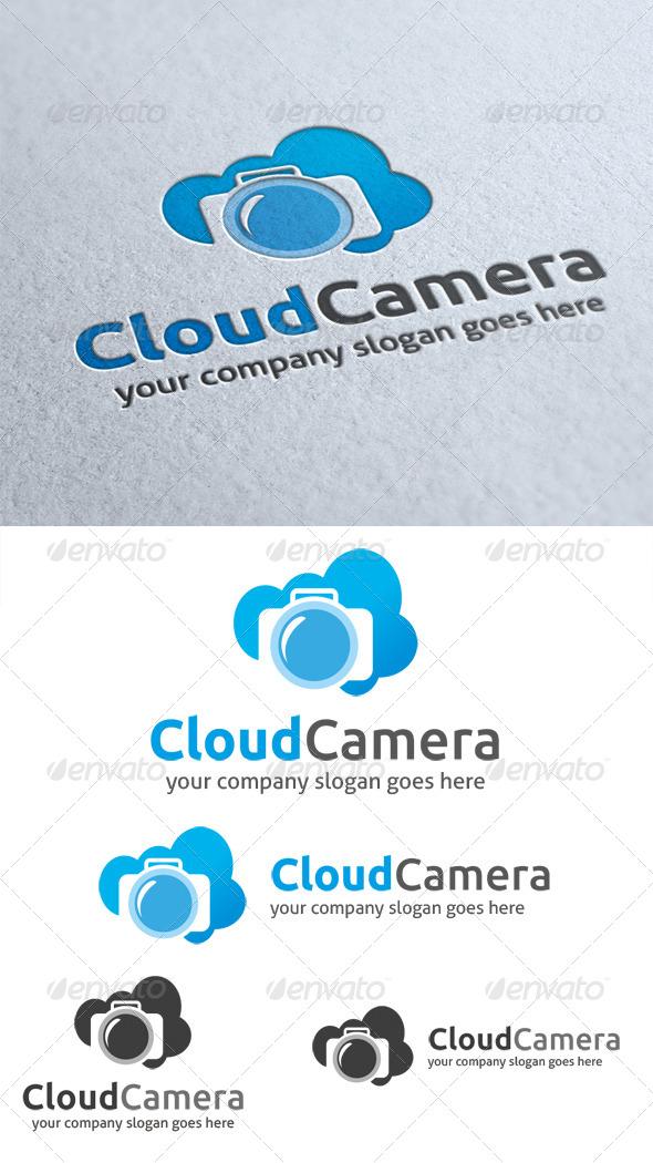 Cloud Camera Logo - Objects Logo Templates