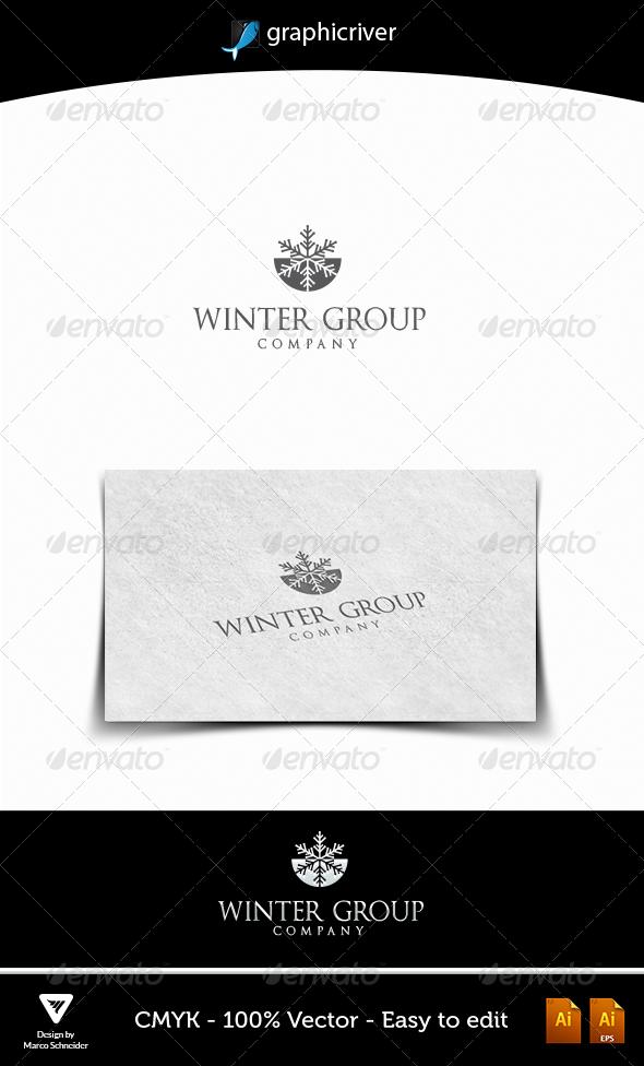 WINTER GROUP - Logo Templates