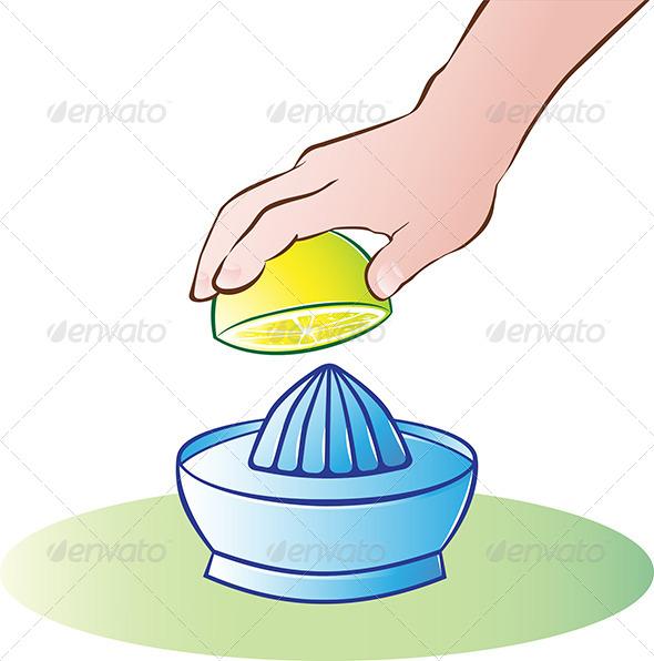 Lemon Juicer - Food Objects