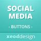 Sleek Social Media Buttons Pack - GraphicRiver Item for Sale