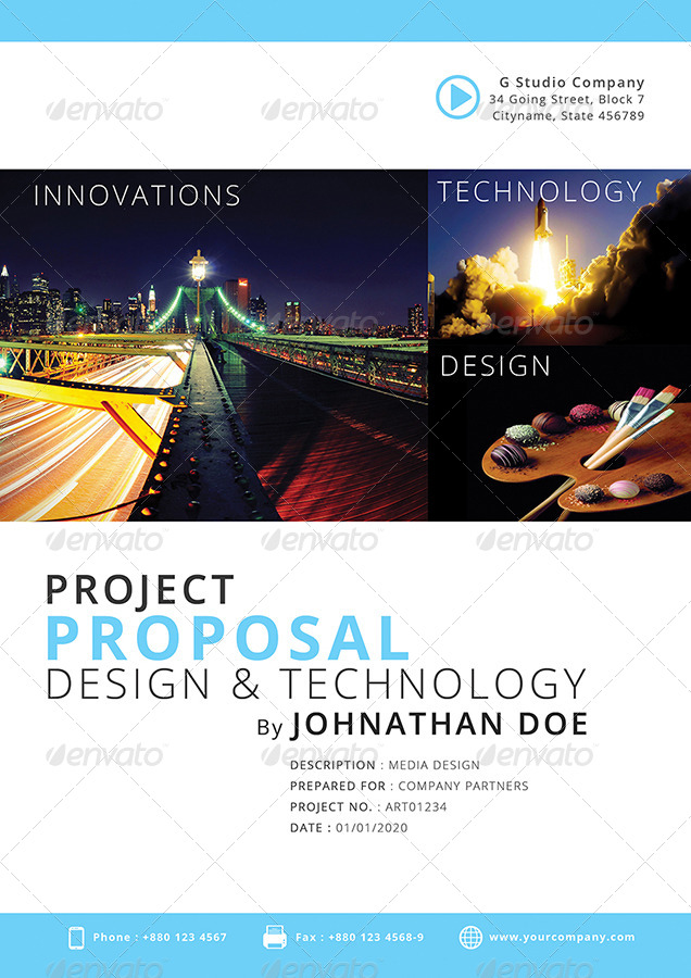 Gstudio Project Proposal Template