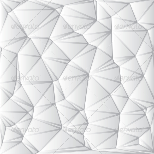 Abstract White Geometrical Background - Abstract Conceptual