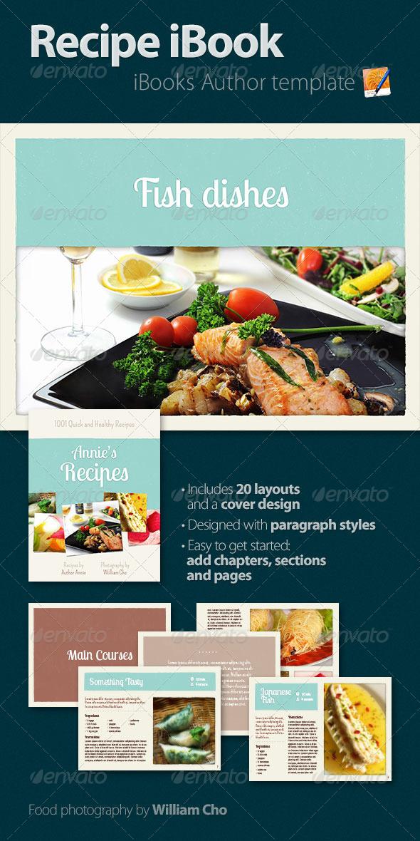 Recipe iBook - Digital Books ePublishing