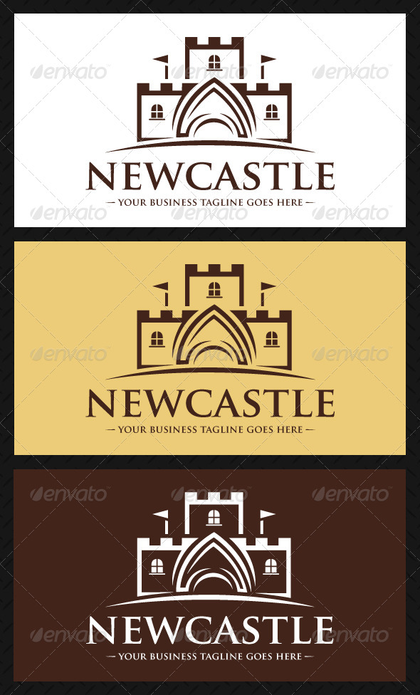 Castle Logo Template - Buildings Logo Templates