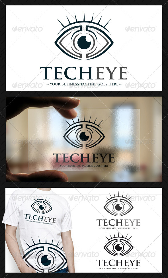 Tech Eye Logo - Humans Logo Templates