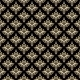 Damask Seamless Pattern. Black, Gold. - GraphicRiver Item for Sale