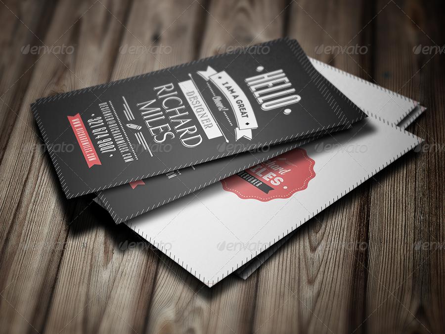 retro business cards thevillas co