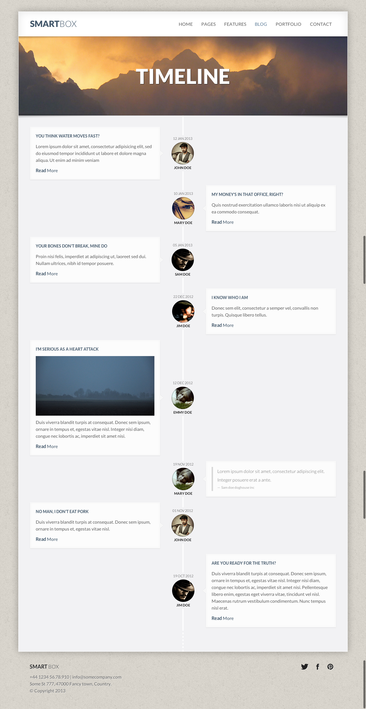 Magnificent Html Timeline Template Pictures Inspiration Example - Timeline html template