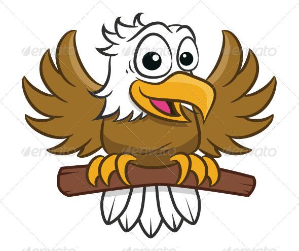 Eagle Toon - Characters Vectors